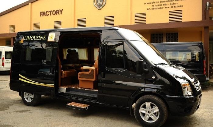 Cho Thue Xe 16 Cho Limousine