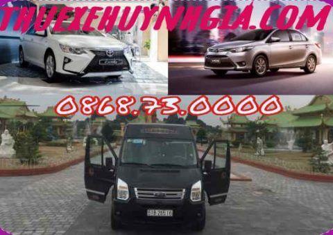 Thuê xe du lịch giá rẻ Huỳnh Gia