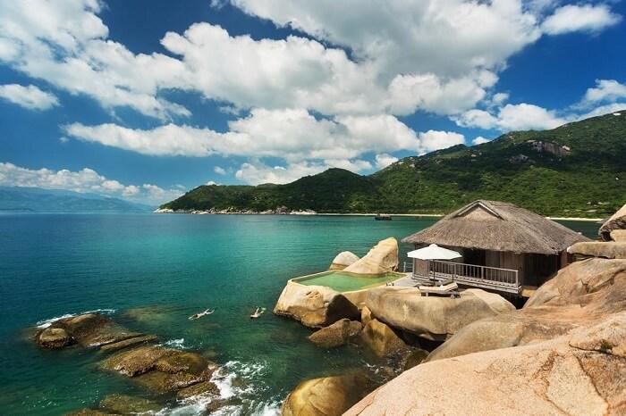 Bãi tắm Vịnh của Nha Trang