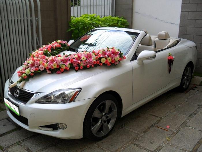 thuê xe hoa trong ngày cưới
