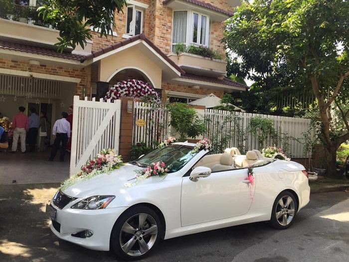 Thuê xe hoa ngày cưới-Cần chọn chất