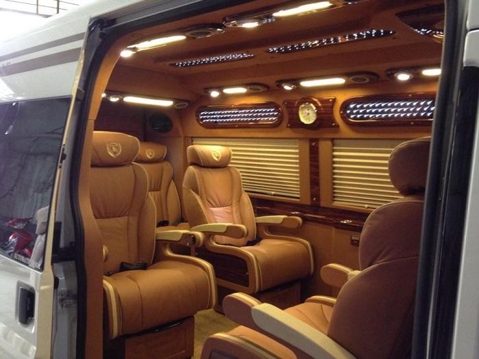 Dòng xe Limousine- Xe của nhà giàu