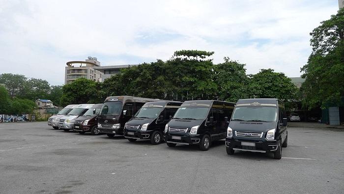 Báo giá chuẩn xác xe 16 chỗ 2020 tại Huỳnh Gia