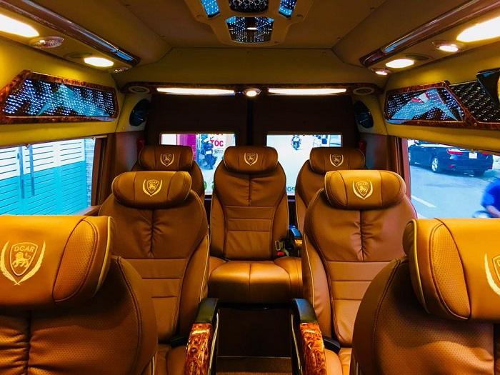 Xe limousine với tính năng đa dạng