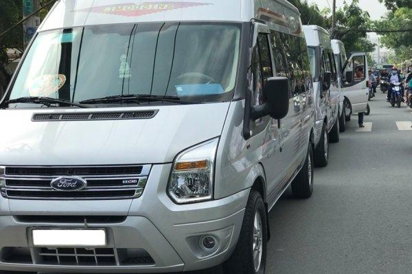 Địa chỉ cho thuê xe du lịch 16 chỗ đi Bảo Lộc uy tín chuyên nghiệp