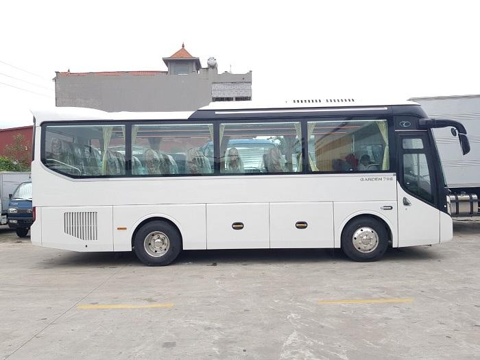 Mẫu xe 29 chỗ ngồi cho thuê phổ biến trên thị trường