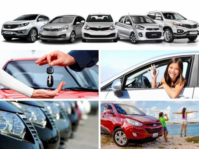 Nhiều mẫu xe cho thuê để khách hàng lựa chọn