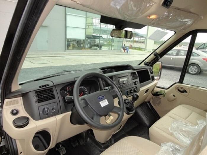 Cho thuê xe tháng 16 chỗ Ford Transit tại TPHCM giá rẻ