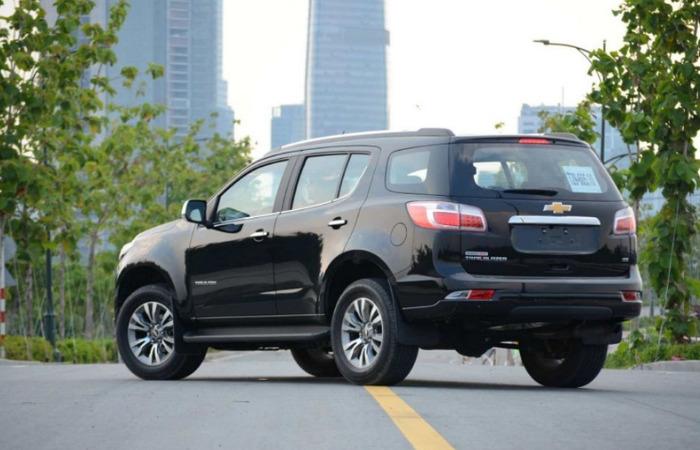 Thue Xe Chevrolet Trailblazer 3