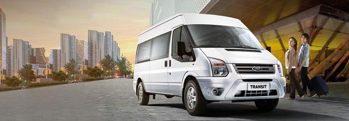Phục vụ quý khách hàng đi du lịch nhiều nơi bằng xe 16 chỗ