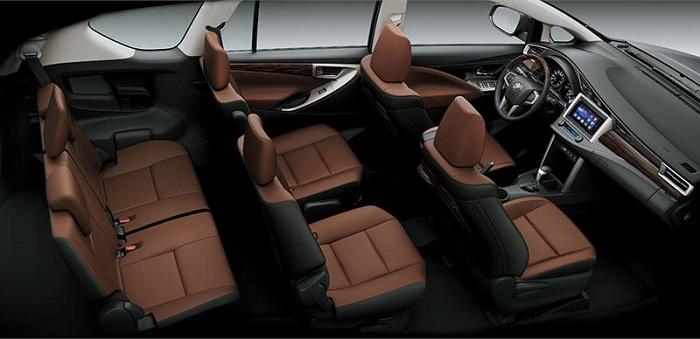 Nội thất của xe 7 chỗ Toyota Innova là điểm đáng chú ý